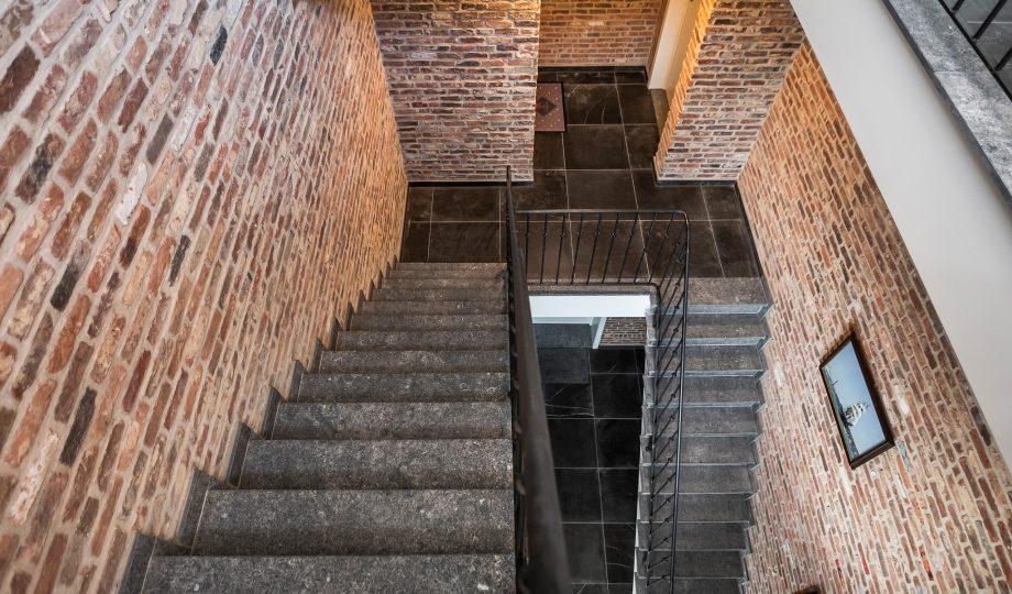 Realisatie Brugge trappen